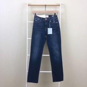NWT Frame Denim High Rise Le High Straight Jeans